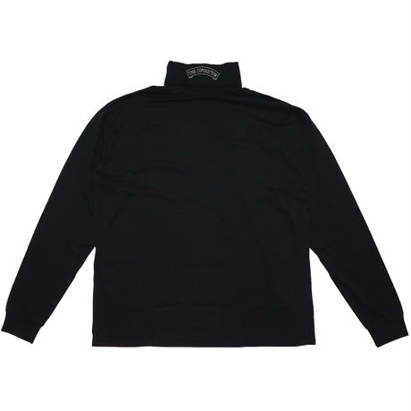 TURTURTLE NECK LONG SLEEVE T-SHIRT 'KENN(BK)