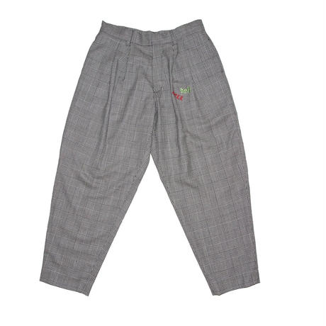 EMBROIDERED WOOL TROUSERS ' MISTER