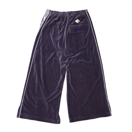 VELOURS TRACK TROUSERS(PPL)