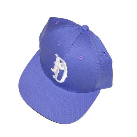 EMB BASEBALL CAP 'HIGHSCHOOLER (PURPLE)