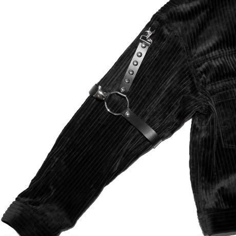 LEATHER LEG HARNESS 'JACKSON