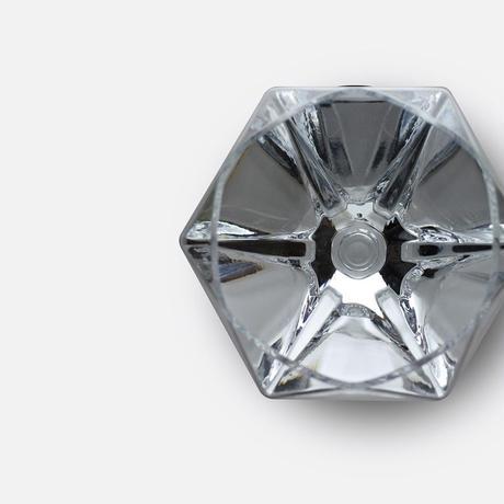 【Diamond Glass ダイヤモンドグラス】ダイヤ型 ワイングラス 江戸硝子