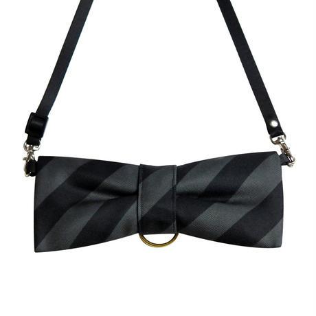 CuCu ribbon | Strap | Resimental Stripes |ブラック