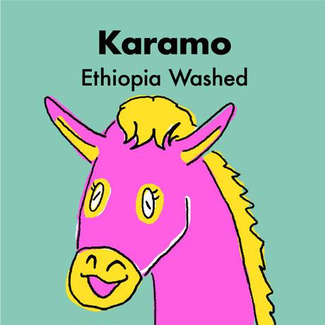 エチオピア/カラモ -ウォッシュト-  300g