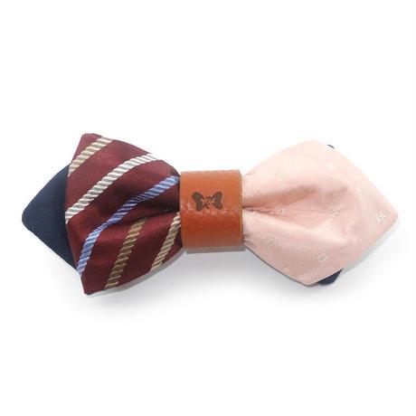 Patriqo Dress Shima × Dia 09 Bowtie <Pink> ドレス蝶ネクタイ (ブローチ)