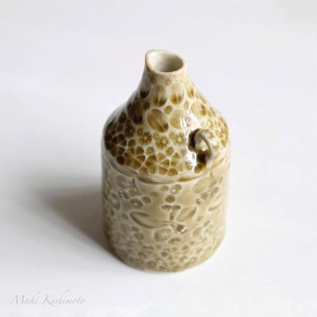 Sさま専用・mori de nohara de「花器(オークル)」