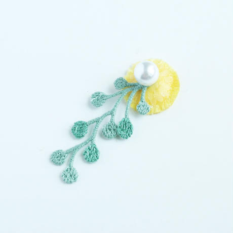 RAINY LACE PIERCE / EARRING (flower)
