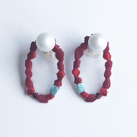 MOZAIC STONE PIERCE / EARRING