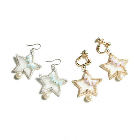 AURORA STAR PIERCE/EARRING