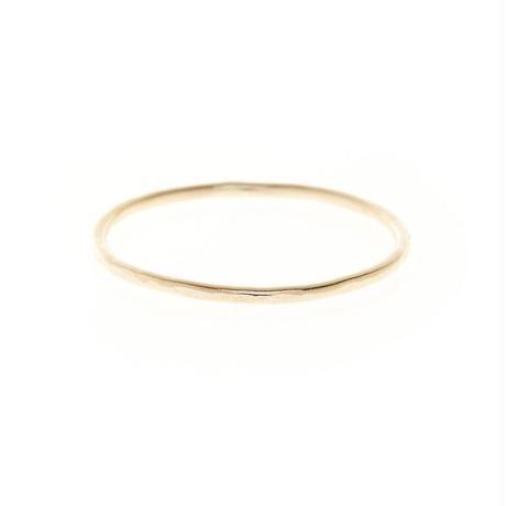 Hammer Finish Simple Ring