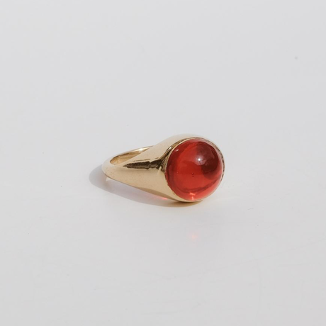 Smooth Stone Ring