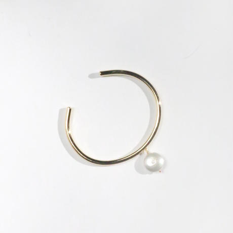 Freshwater pearl Coin Cuff