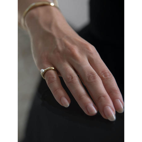 Quirky Pearl Ring