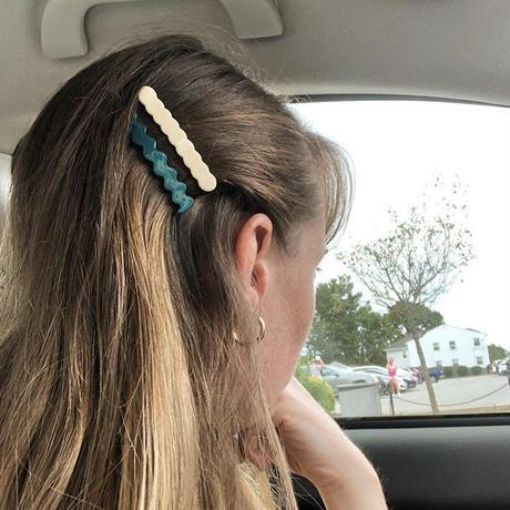Thin line hair pin 4set