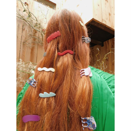 Mini Wave Barrettes 3set