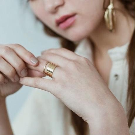 Star Band Ring (gold)