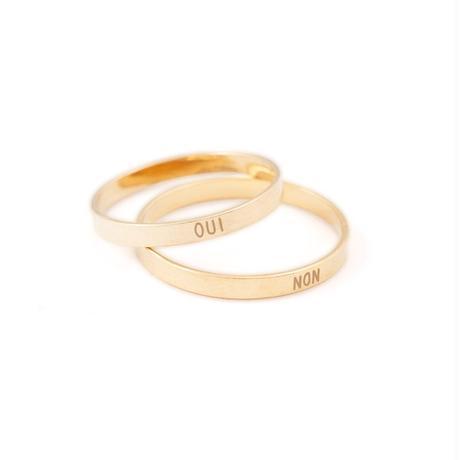 OUI & NON Ring