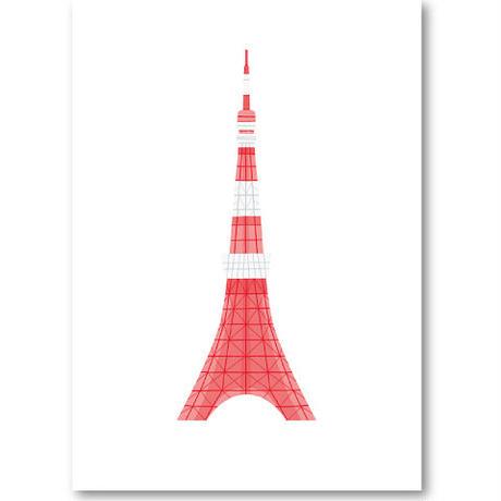 """Art Print """"Tokyo Tower""""    Cristina de Lera"""