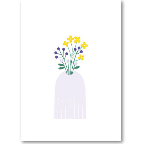 "Art Print ""Small flowers""  