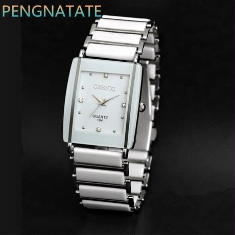 premium selection ba008 c0618 Chenxi ファッション女性腕時計 高級腕時計 女性クォーツ腕時計 セラミック防水時計 58