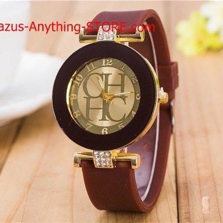 レディース クリスタルジュネーブ腕時計 男性 シリコーン腕時計 ドレス腕時計 1771 9/25