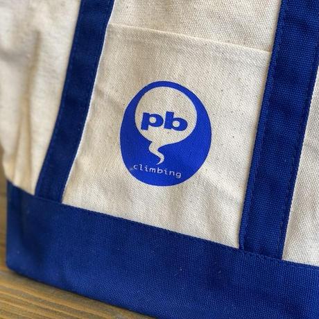 pb climbing オリジナルキャンバスバイカラートートバッグ