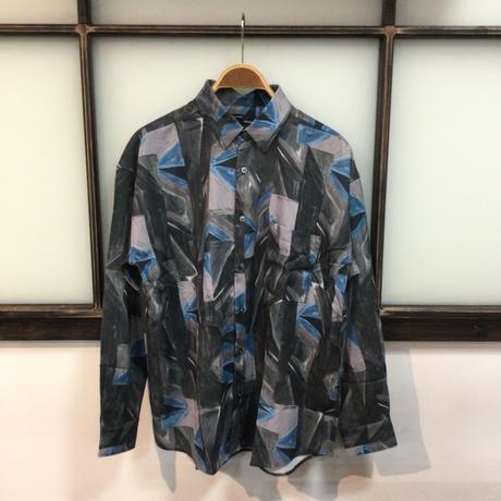 総柄プリントシャツ(全2カラー)