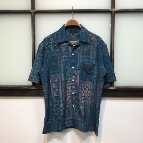 パティックオープンカラーシャツ(全2カラー)