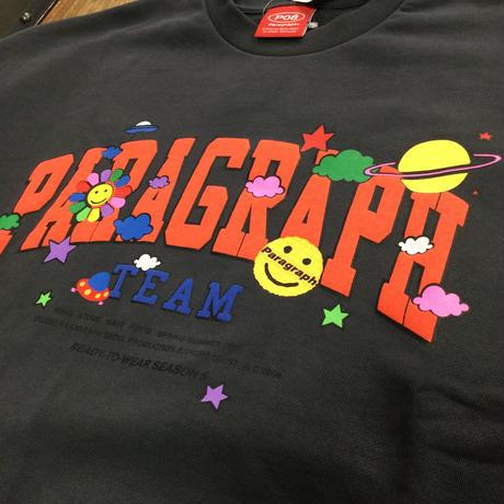 PARAGRAPH  Happy Logo Sweat(全6カラー)