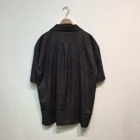 ダマスク柄オープンカラーシャツ(全2カラー)