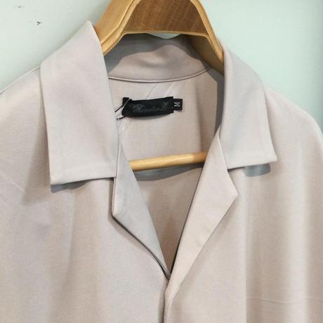 ポンチオープンカラーシャツ(全2カラー)