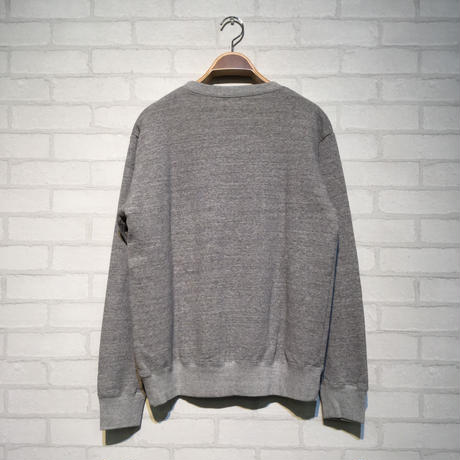 TES TURN BUHI EMB CREWNECK SWEAT