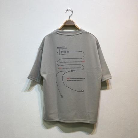 カセット刺繍ポンチビッグシルエットTEE(全3カラー)