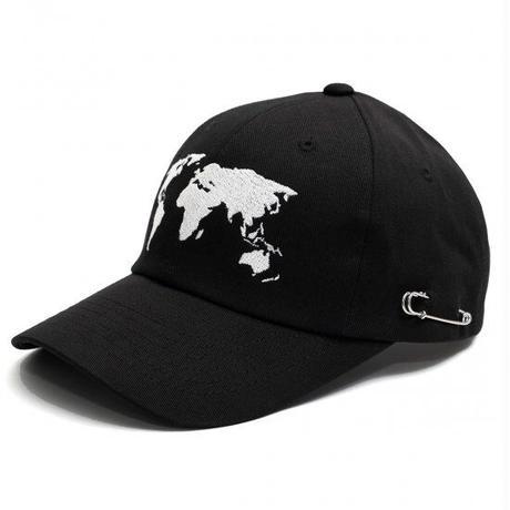MACK BARRY WORLD MAP CAP