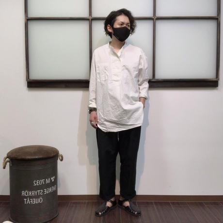 AUD コットンシーチングクロス コックオーバーシャツ(全2カラー)