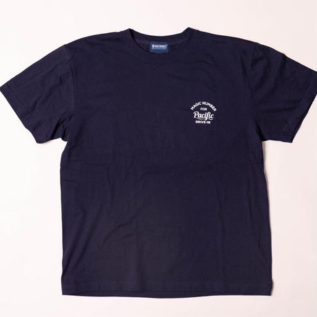 ★MAGIC NUMBER FOR Pacific DRIVE-IN★ S/S TEE NAVY