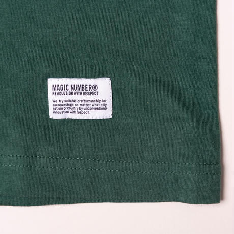 ★MAGIC NUMBER FOR Pacific DRIVE-IN★ L/S TEE GREEN