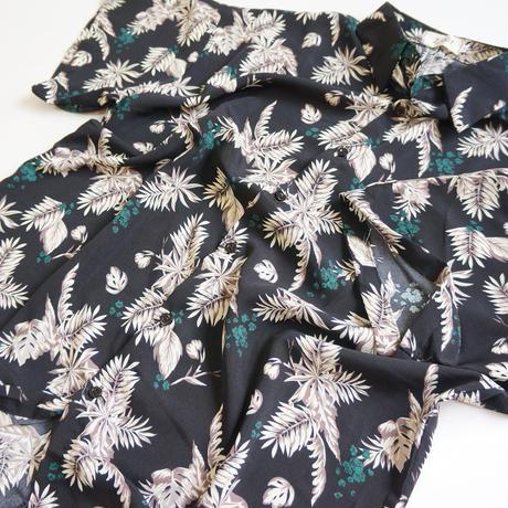 Botanical Half Sleeve Shirt ボタニカル柄 半袖シャツ