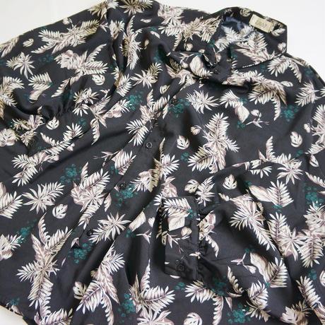 Botanical Long Sleeve Shirt ボタニカル柄 長袖シャツ