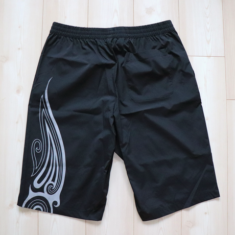 SEE THE LIGHT TRIBAL SHORTS ( BLK-Reflector )