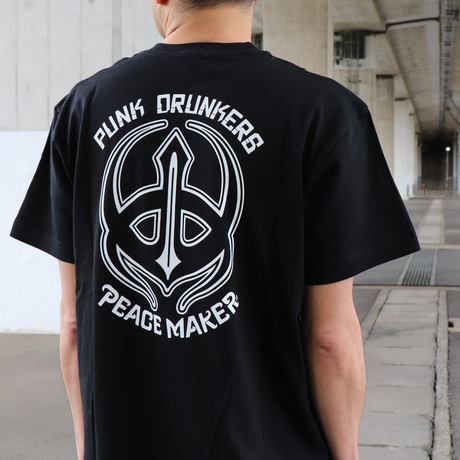 TRIBAL 鮫人PEACE-T / BLK 【PDS×PEACEMAKER】