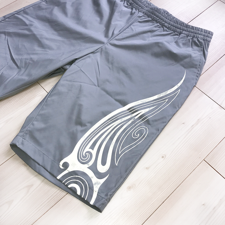SEE THE LIGHT TRIBAL SHORTS ( GRY-Reflector )