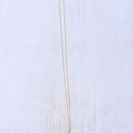 14kgfプチネックレス(イニシャル)