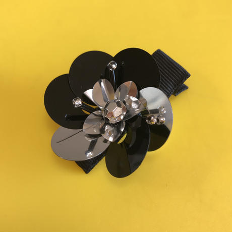 Spangle  Flower Hairclip