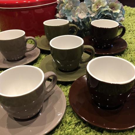 ★売り切りSALE価格★ティータイムにどうですか(^_-)-☆コーヒーカップ☆6脚セット