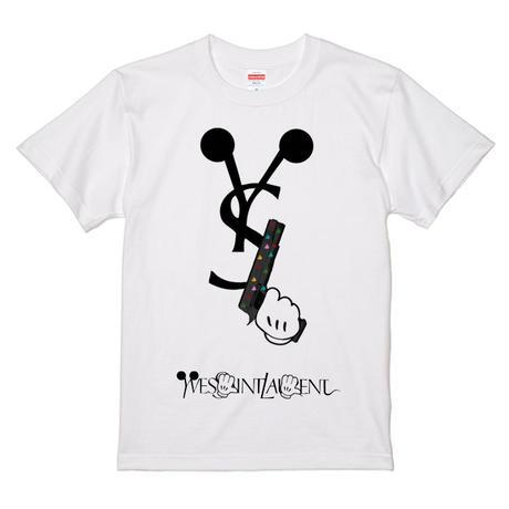 予約販売★【MIKXXX HANDS GUN】メンズ  ミッキー サーフ プリントTシャツ
