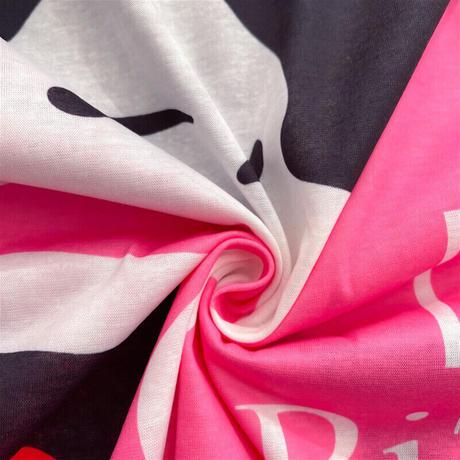 春夏ファッション!ポップでキュート❤︎大きめサイズ Tシャツ シャツワンピース