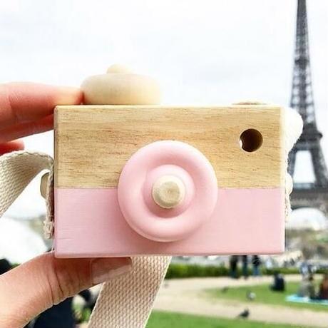 大人気★キッズTOY★木製カメラ★超カワイイ撮影装具