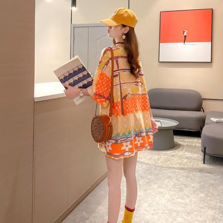 カラフル♥キュート夏カラー°˖✧Tシャツ ダボッとTシャツ ワンピース