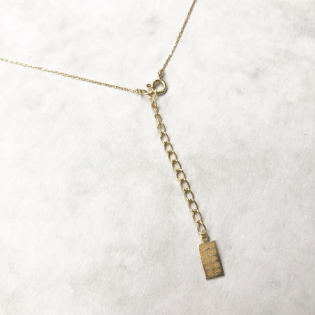 Tsubomi long necklace - M size